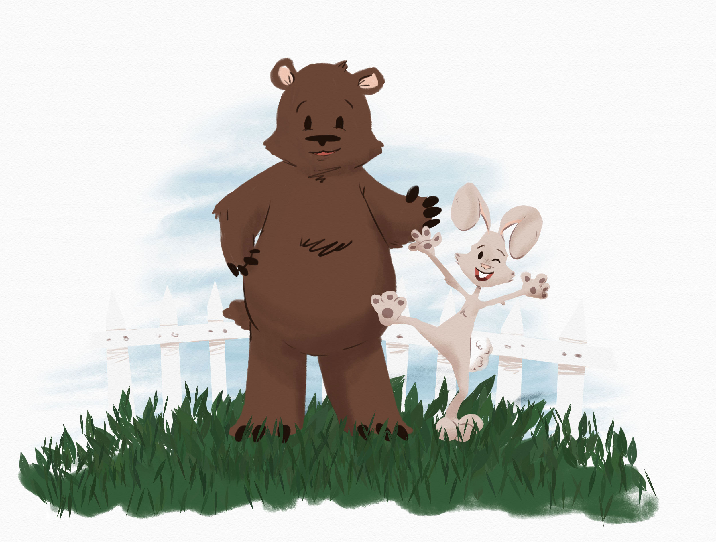 Bear and Rabbit